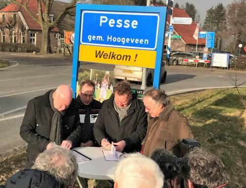 Gemeente Hoogeveen en RE-NET B.V. tekenen glasvezelconvenant