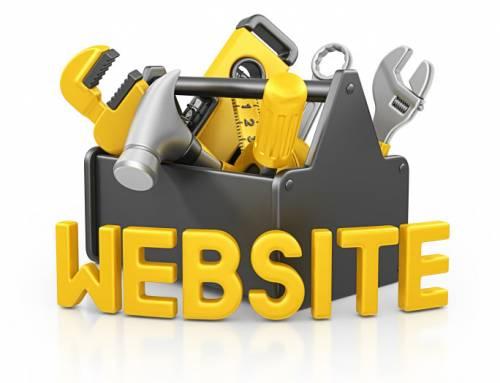 Werkzaamheden website woensdag 18 juli