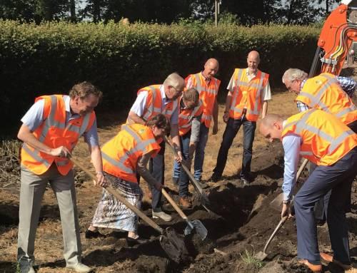Start aanleg glasvezel in buitengebied Kop van Overijssel