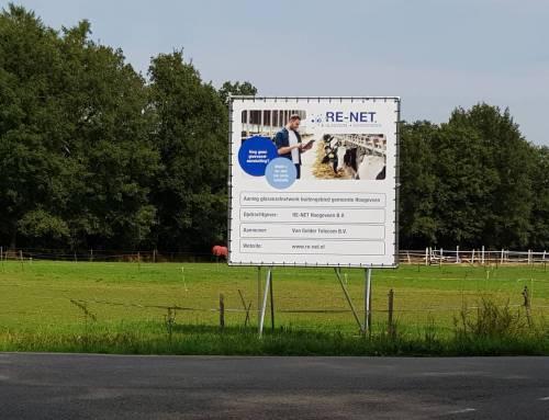 Aannemer volop aan de gang in de gemeente Hoogeveen