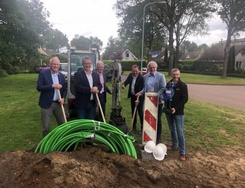 Start aanleg glasvezel in Noordoost Drenthe
