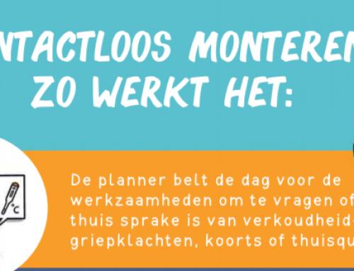 Steenwijkerland kernen: Contactloos monteren: hoe doen we dat?